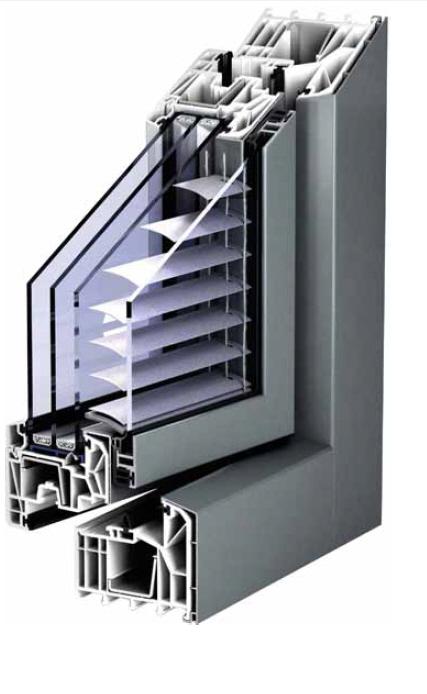 kunststofffenster mit alu schale in weiss oder ral farben nach wunsch. Black Bedroom Furniture Sets. Home Design Ideas