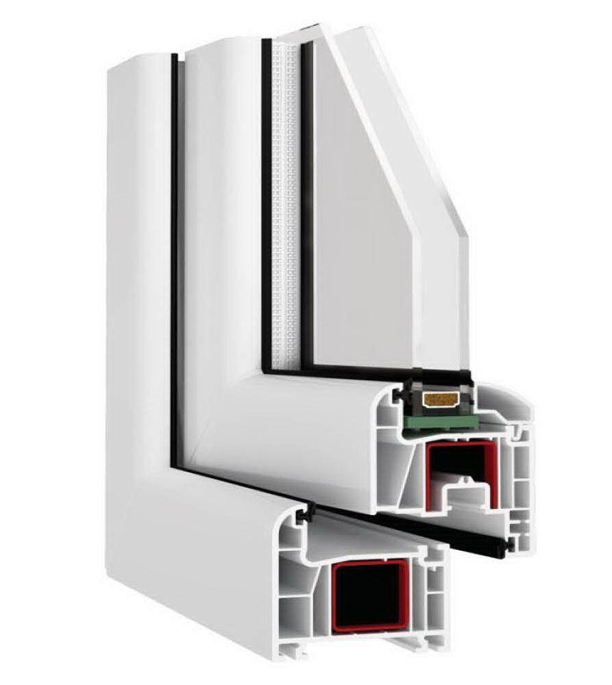 Kunststofffenster auch mit alu clip 6kammern 7 kammern for Alu kunststofffenster