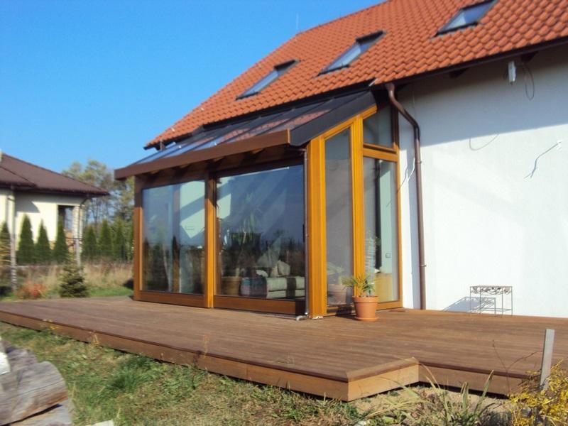 wintergarten in holz oder alu inklusive lieferung und montage. Black Bedroom Furniture Sets. Home Design Ideas